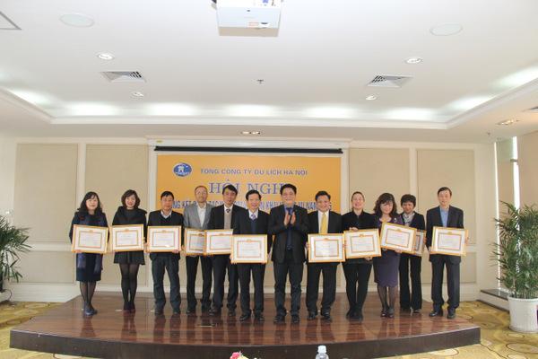 Hanoitourist tổ chức Hội nghị tổng kết 2014, triển khai nhiệm vụ 2015