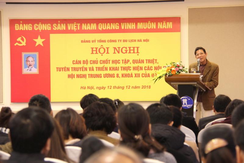 Hội nghị học tập, quán triệt, và triển khai các nội dung Hội nghị Trung ương 8 khóa XII của Đảng