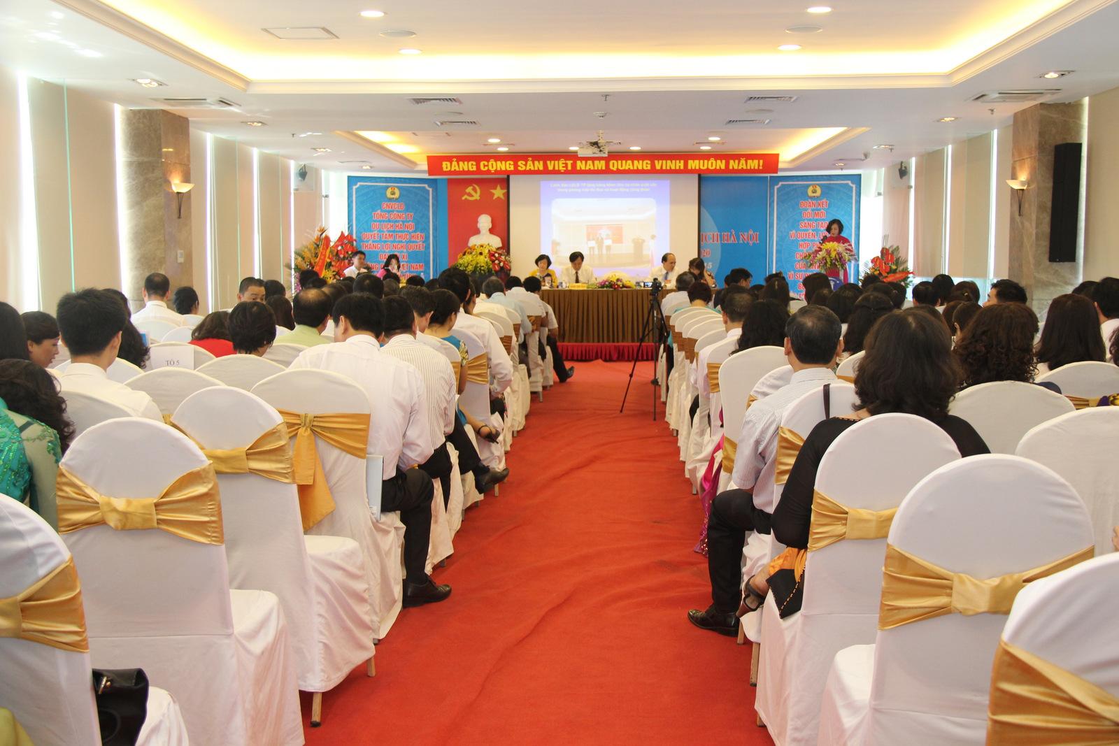 Công đoàn Hanoitourist tổ chức Đại hội lần thứ III, nhiệm kỳ 2015 -2020