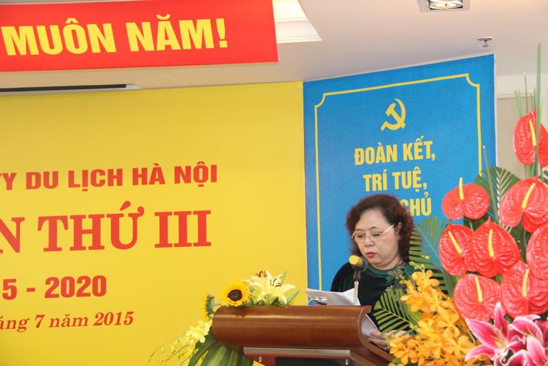 Phó bí thư thành uỷ Hà Nội: Hanoitourist hoàn thành tốt nhiệm vụ sản xuất kinh doanh