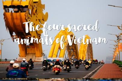 The four sacred animals of Vietnam