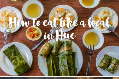How to eat like a local in Hue