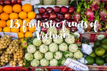 13 fantastic fruits of Vietnam