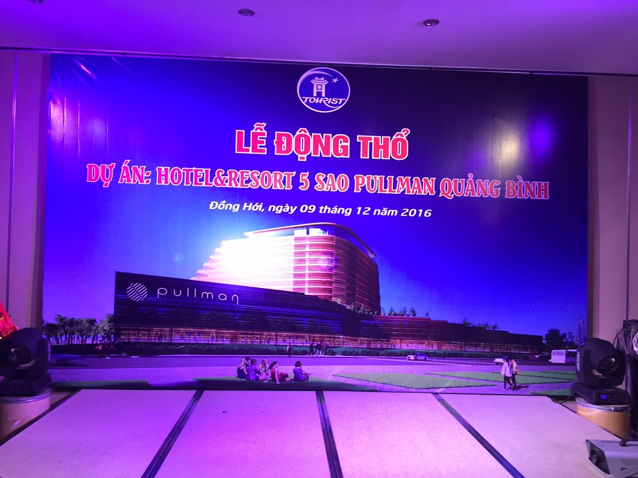 Hanoitourist tổ chức Lễ động thổ Dự án Khách sạn 5 sao Pullman tại Quảng Bình
