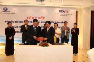Credit Facility Agreement Signing Ceremony for Pullman Quang Binh Project
