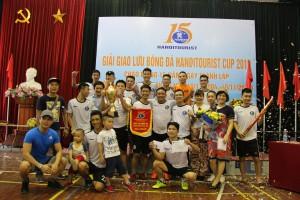 Bế mạc và trao giải giao lưu bóng đá Hanoitourist Cup 2019