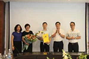 Tổng công ty Du lịch Hà Nội trao quyết định bổ nhiệm cán bộ