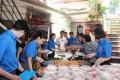 Đoàn Thanh niên Hanoitourist: Ấm lòng những suất cơm từ thiện