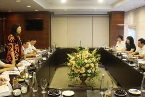 Đảng ủy Tổng công ty Du lịch Hà Nội làm việc với Đoàn kiểm tra số 11 của Ban Thường vụ Thành ủy