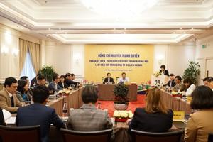 Phó Chủ tịch UBND Thành phố làm việc cùng Tổng Công ty Du lịch