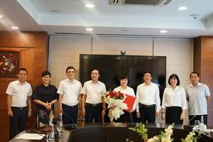 Tổng công ty Du lịch Hà Nội trao quyết định bổ nhiệm Bà Phạm Thị Thu Huyền giữ chức vụ Phó Tổng giám đốc