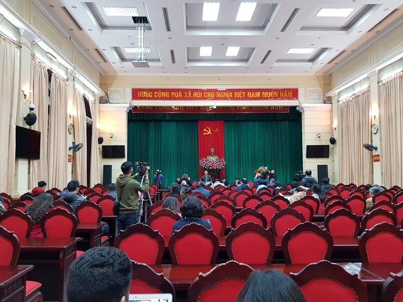 Hanoitourist báo cáo kết quả công tác quảng bá du lịch năm 2018, phương hướng nhiệm vụ năm 2019 tại Hội nghị thông tin báo chí Thành ủy