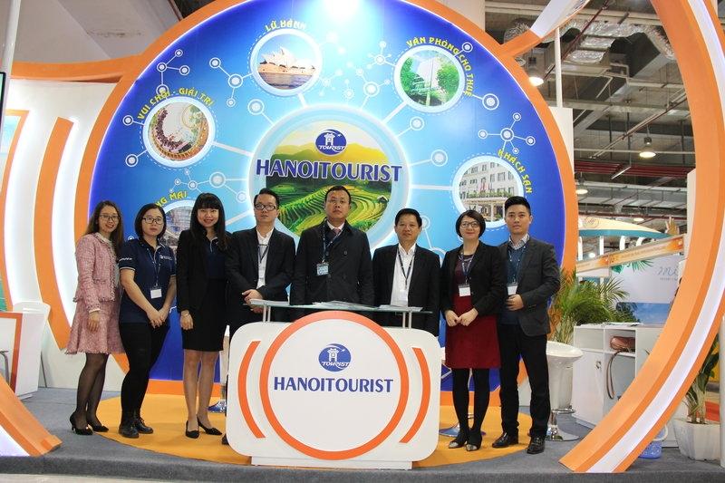 Hanoitourist tham dự Hội chợ du lịch Travex 2019