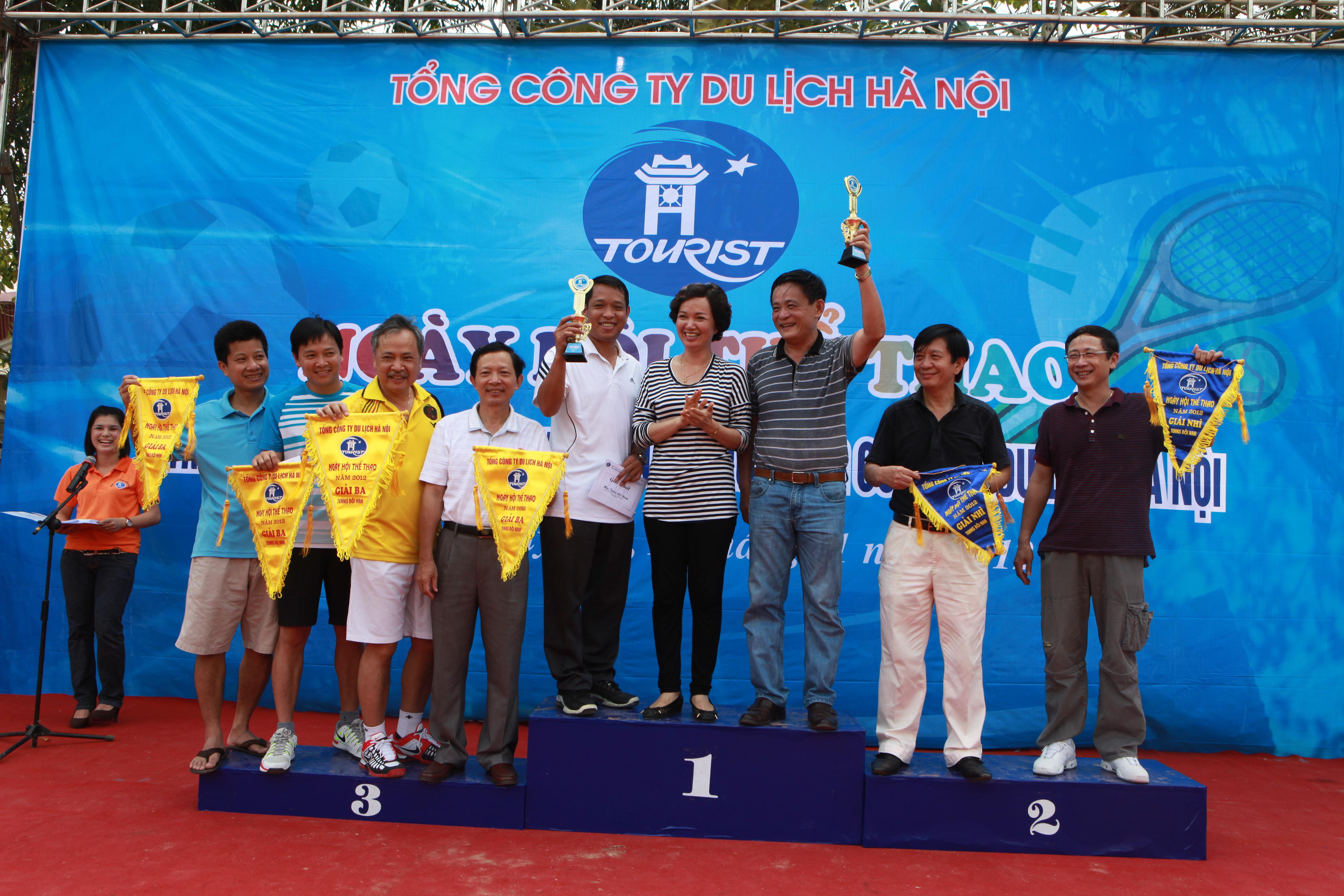 Ngày hội thể thao Tổng công ty Du lịch Hà Nội thành công rực rỡ