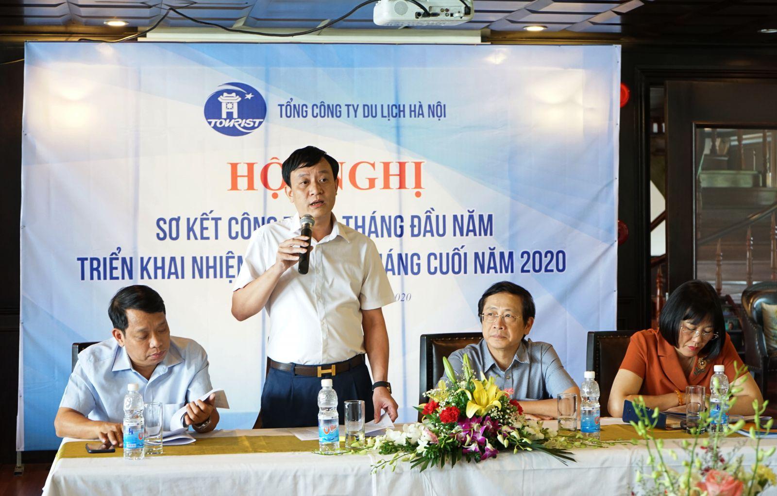 Hanoitourist tổ chức Hội nghị sơ kết 6 tháng đầu năm 2020