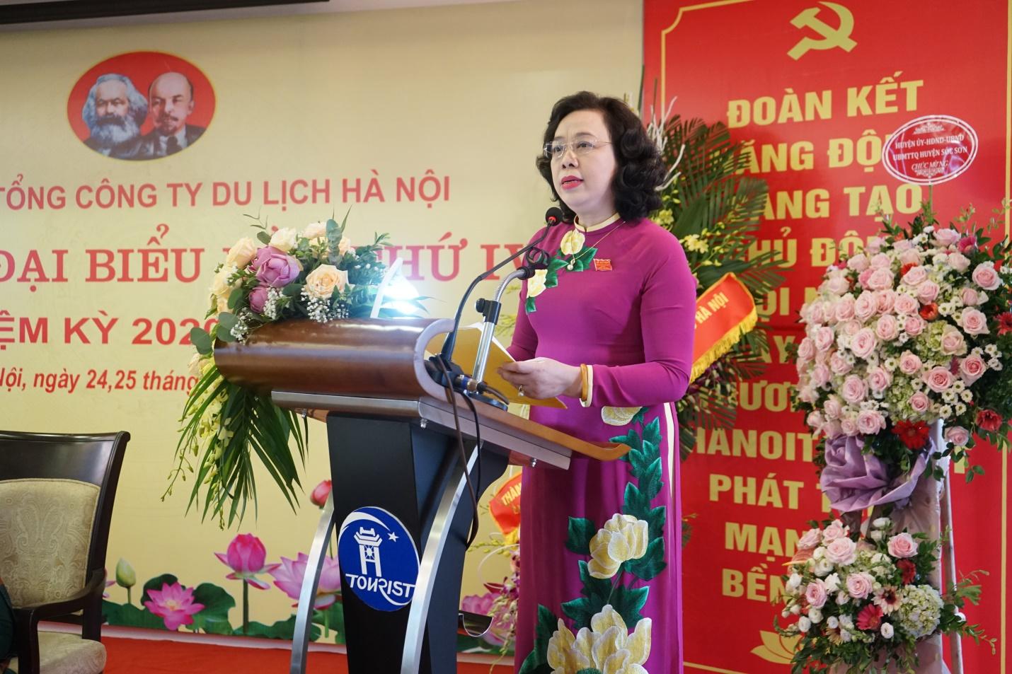 Đại hội Đại biểu Đảng bộ lần thứ IV – Đảng bộ Tổng công ty Du lịch hà Nội nhiệm kỳ 2020 – 2025